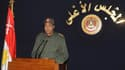 Allocution du maréchal Mohamed Hussein Tantaoui, au pouvoir en Egypte.