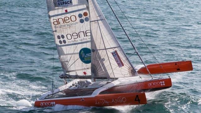 Aneo, le bateau d'Anne Caseneuve