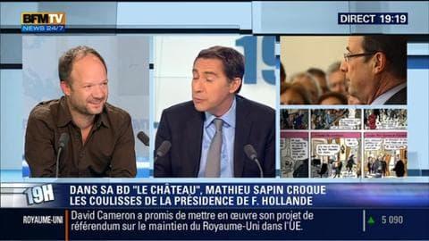 Mathieu Sapin face à Laurent Neumann