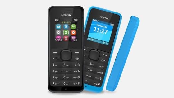 Le Nokia 105 est un modèle destiné aux pays émergents.