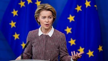 Ursula von der Leylen, présidente de la Commission européenne.