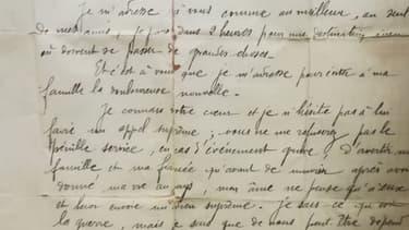 La police marseillaise a réussi à retrouver la famille d'un poilu.