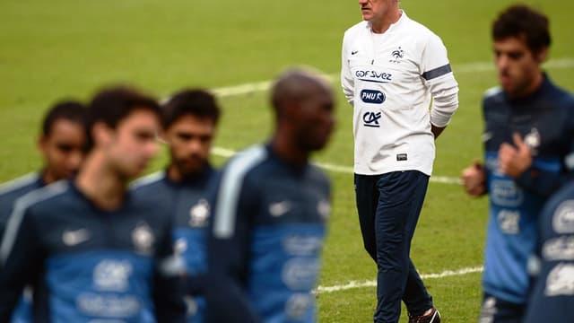 Didier Deschamps est sélectionneur de l'équipe de France depuis un an