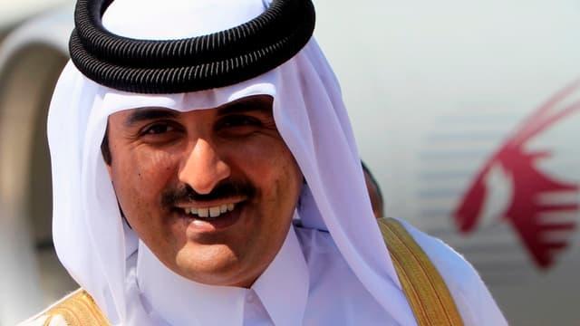 Le cheikh Tamim bin Hamad al-Thani