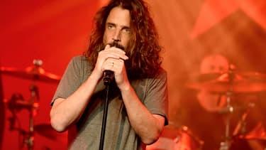 Chris Cornell en concert à Los Angeles, le 20 janvier dernier.