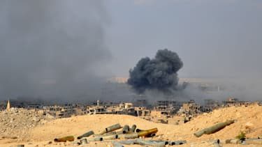 Deir Ezzor (Syrie), le 2 novembre 2017. Photo d'illustration - STRINGER / AFP