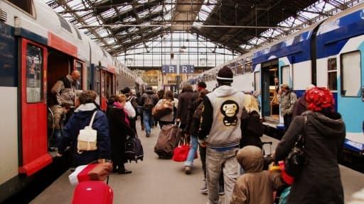 Les voyageurs vont subir une augmentation des prix du train, en raison de la hausse de la TVA sur les transports.