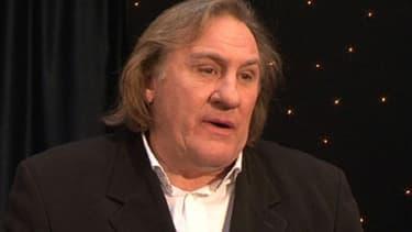 Gérard Depardieu a donné une interview à la télé belge Notélé le 16 mars 2013.