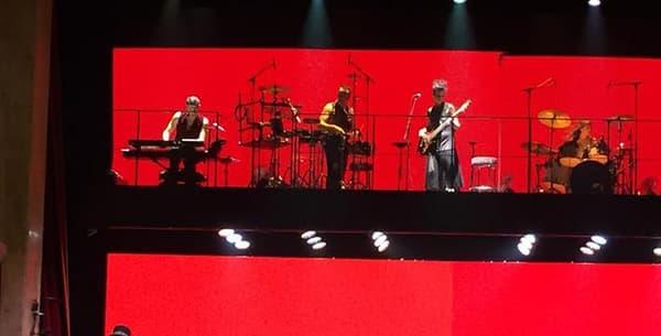 """Le final du """"Rouge et le noir, l'opéra rock"""", au Palace à Paris, le 29 septembre."""