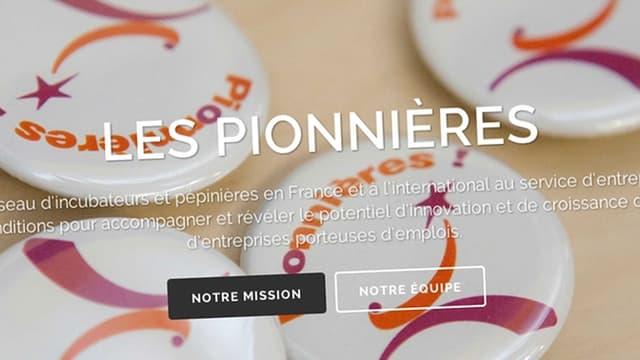 Les Pionnières est un réseau d'incubateurs.