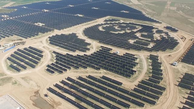 Construite en chine, cette centrale solaire en forme de panda est la première d'une longue série.