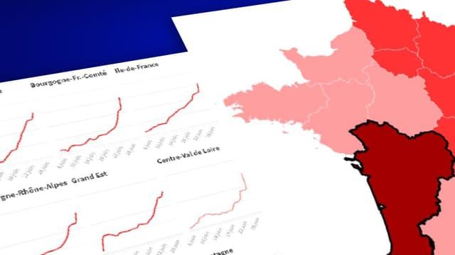 INFOGRAPHIES. Covid-19: À quel point le variant Delta circule-t-il dans votre région ?
