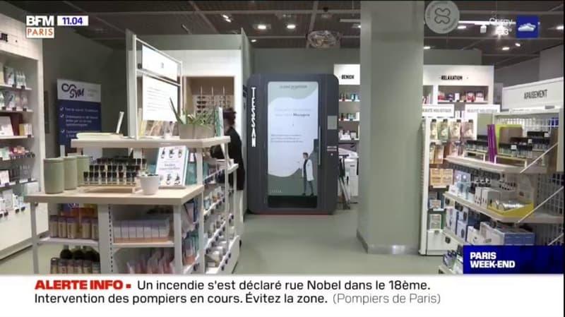 Paris: une cabine de téléconsultation installée dans un magasin Monoprix