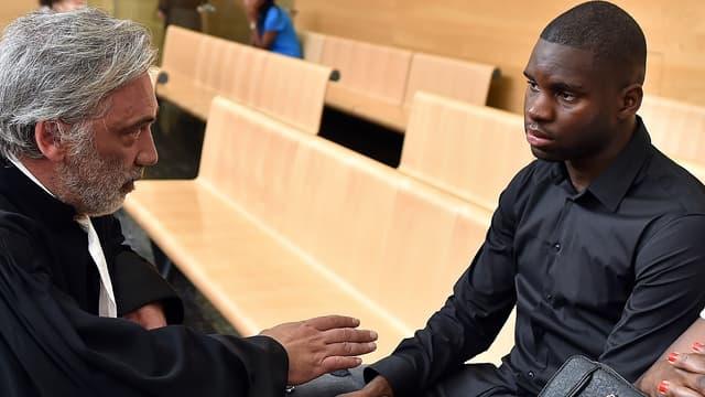 Odsonne Edouard au tribunal