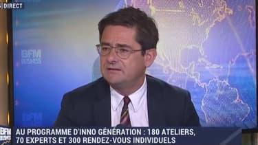 """""""Le label French Fab incarne la rénovation de notre industrie"""" explique Nicolas Dufourcq, directeur général de Bpifrance."""