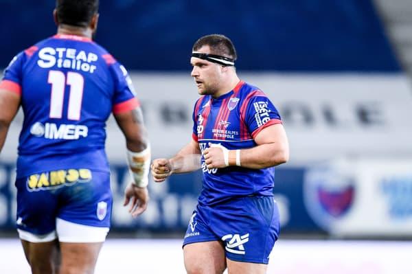 Jérôme Rey lors du match Grenoble-Béziers
