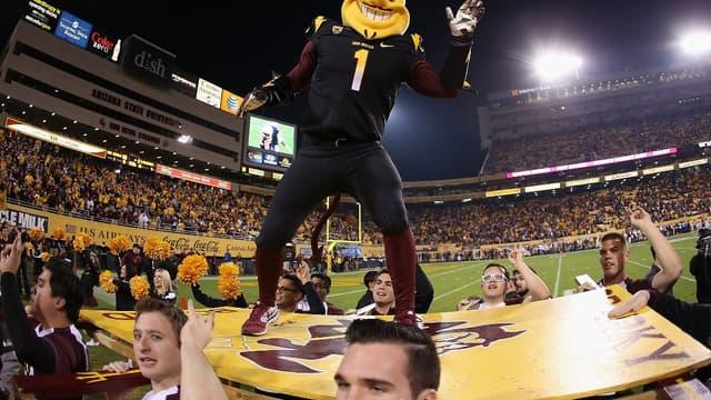 Sparky, la mascotte des Sun Devils de l'université d'Arizona State