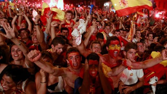 Les supporters de la Roja