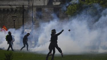 Manifestation à Nantes en soutien aux zadistes samedi 14 avril 2018