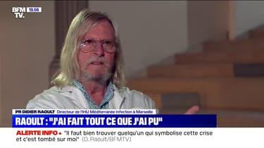 """Pr Didier Raoult: """"J'ai pensé que ce pays partait dans le mur, que le bateau était en train de couler et qu'il fallait l'en empêcher"""""""