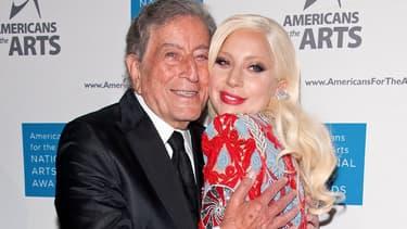 Lady Gaga et Tony Bennett, le 19 octobre 2015