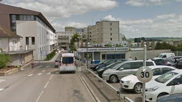 Le centre hospitalier d'Auxerre - Image d'illustration