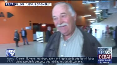 "François Fillon: ""Je vais gagner !"""
