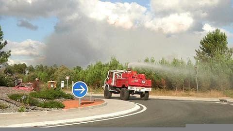 Un deuxième incendie en 15 jours à Saint-Jean-d'Illac en Gironde