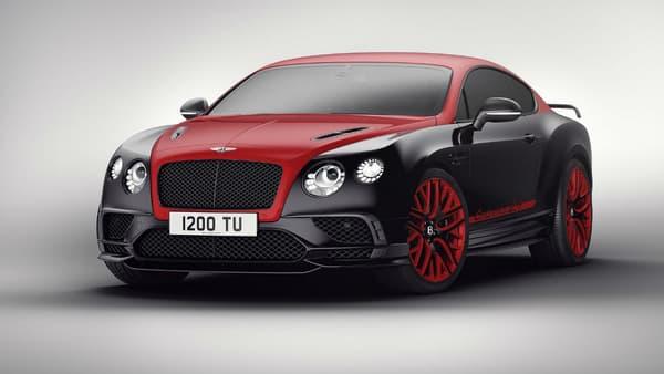 Bentley la propose également dans une version Rouge Saint James.