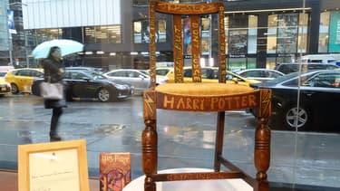 La chaise utilisée par J.K Rowling