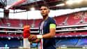 Thiago Silva avec le maillot du PSG