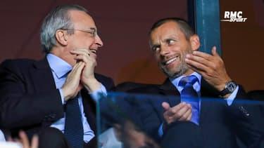 """Super League : Perez ne """"craint"""" pas les menaces de l'UEFA"""