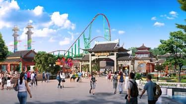 La Wanda Cultural Tourism City inaugurée à Nanchang accueille sur 2 km² un parc à thème et une zone commerciale.