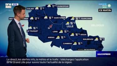 Météo Nord-Pas-de-Calais: des averses, du vent et des températures fraiches