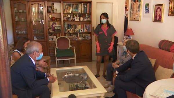 Emmanuel Macron à Toulon, le 4 août 2020.
