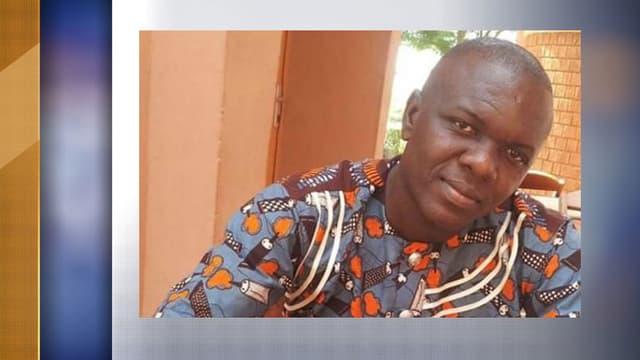 Fiacre Gbédji, chauffeur-guide béninois des deux ex-otages français