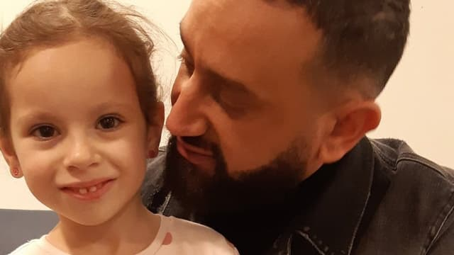 La petite Camille et Cyril Hanouna