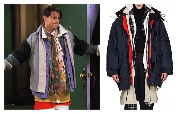 Quand Joey inspire la mode