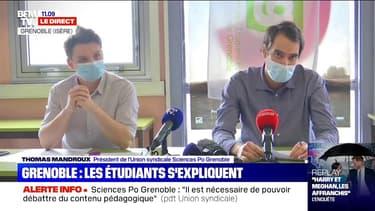 """IEP Grenoble: """"Nous dénonçons la récupération politique faite par la droite et l'extrême droite"""", déclare le président de l'Union syndicale"""