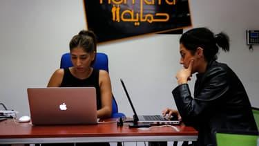 La start-up palestinienne Red Crow a créé un outil numérique qui recense en temps réel les incidents de sécurité dans les territoires palestiniens.