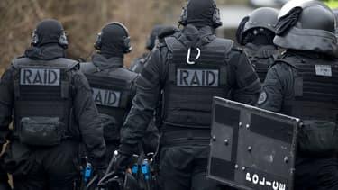Des agents du Raid (image d'illustration).