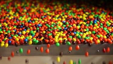 """Mars Chocolat France lauréat du prix """"Gestion de l'Energie"""" pour son projet """"Vapeur verte"""" à l'usine d'Haguenau. Elle produit essentiellement des M&M's."""