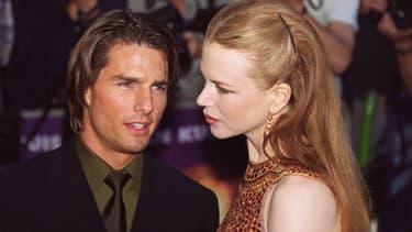 Tom Cruise et Nicole Kidman à Londres en 1999