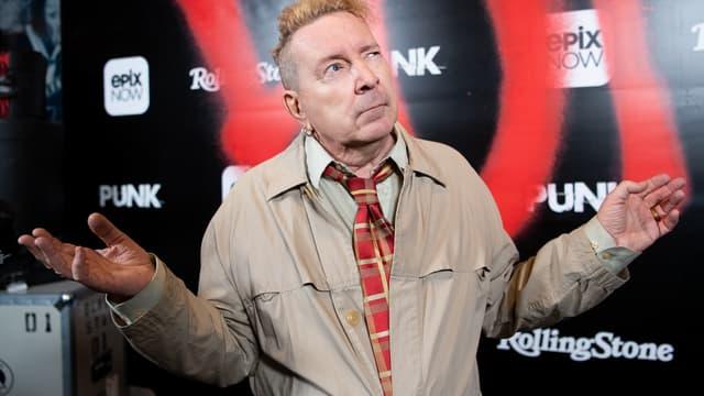 John Lydon, ex-Johnny Rotten des Sex Pistols, en 2019 à Los Angeles, California