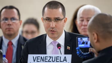 ministre des Affaires étrangères vénézuélien, Jorge Arreaza