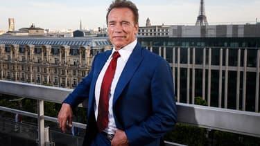 Arnold Schwarzenegger à Paris en juin 2017