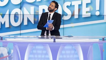 """Cyril Hanouna sur le plateau de """"Touche pas à mon poste!"""""""
