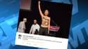 Deux militantes Femen sont intervenues sur la scène du Salon musulman du Val-d'Oise, samedi soir, avant d'être brutalement évacuées par le service d'ordre.