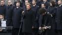 Johnny Hallyday place de la République le 10 janvier 2016