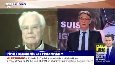 """Jean-Pierre Obin: """"Depuis 2015, on avait été alerté par la publication de Daesh en français"""" - 19/10"""